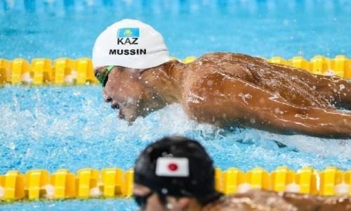 Казахстанский пловец установил новый рекорд страны