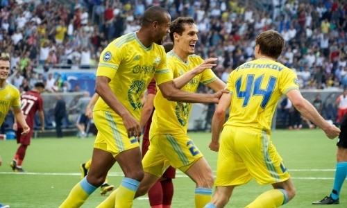 Прямая трансляция матча «Астаны» с «Санта-Коломой» в Лиге Европы