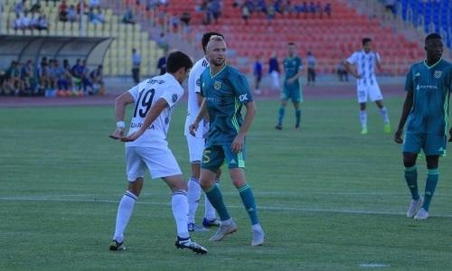 Литовский защитник «Тобола» не сыграет против «Кайсара»