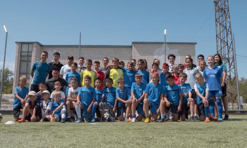 В Павлодаре открылась школа футбольного фристайла