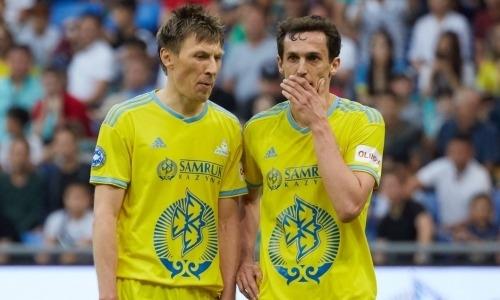 Сенсационный результат зафиксирован в первом тайме матча «Санта-Колома» — «Астана» в Лиге Европы