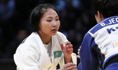 Казахстанская дзюдоистка выиграла этап мирового Гран-при в Загребе