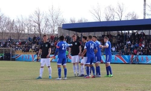 «Экибастуз» на выезде уступил «Академии Оңтүстік» в матче Первой лиги