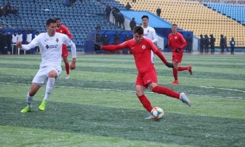«Кайрат-Жастар» вдесятером переиграл «Кызыл-Жар СК» в матче Первой лиги