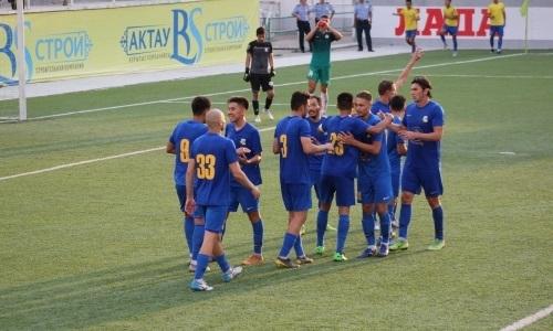«Каспий» минимально обыграл «Мактаарал» в матче Первой лиги