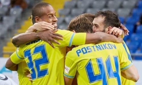 «Астана» уничтожила «Тараз» и вернула лидерство в КПЛ