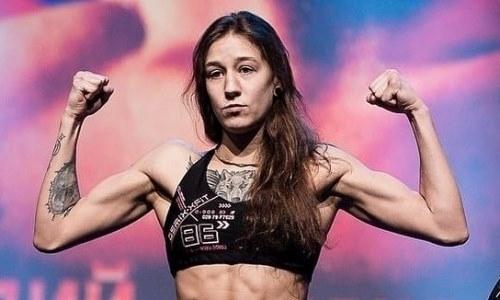 Казахстанка Мария Агапова проиграла бой за контракт с UFC в Лас-Вегасе