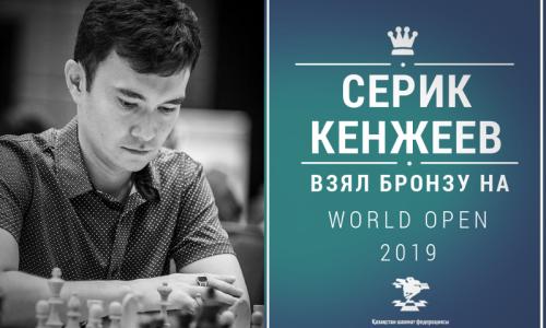 Казахстанский шахматист стал бронзовым призером World Open-2019