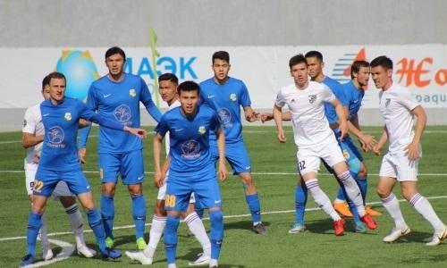 «Жетысу Б» и «Каспий» голов не забили в матче Первой лиги