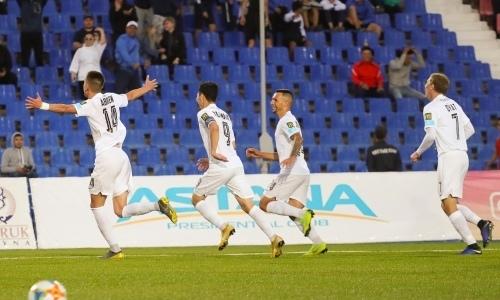 «Кайрат» с удалением на 25-й минуте уверенно победил на выезде «Иртыш»