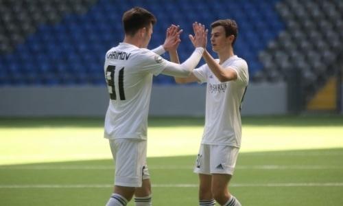«Астана М» разгромила «Кыран» в матче Первой лиги