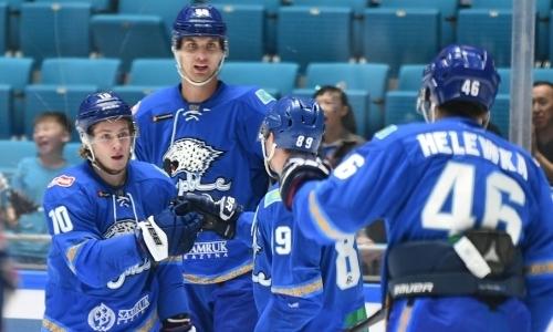 «Барыс» выиграл третий матч из трех на Кубке Президента РК
