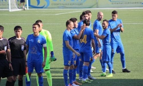 «Каспий» на выезде обыграл «Алтай» в матче Первой лиги