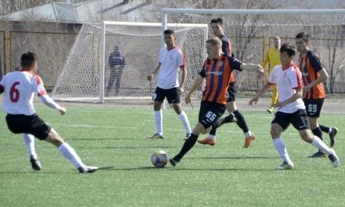 «Байконур» одержал домашнюю победу над «Шахтёр-Булатом» в матче Первой лиги