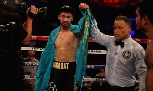 Казахстанский боксер из Top Rank нокаутировал мексиканца с 42 победами в профи