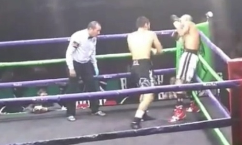 Видео нокаута, или Как казахстанец из Top Rank уложил мексиканца с 42 победами