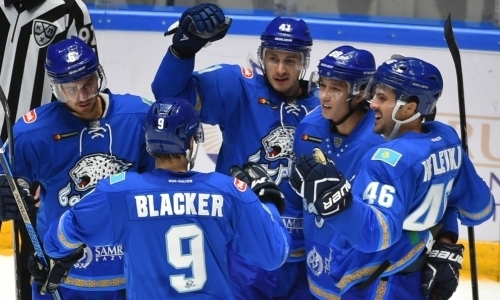 «Барыс» выиграл четыре матча из четырех и стал победителем Кубка Президента РК