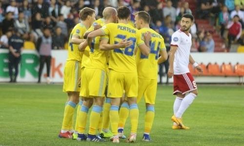 «Астана» в драматичном матче победила «Актобе» и осталась на втором месте КПЛ