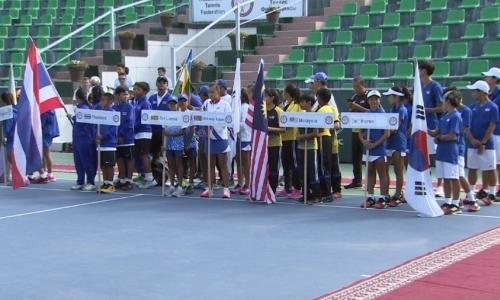 Юные спортсмены из 14 стран участвуют в командном первенстве Азии по теннису