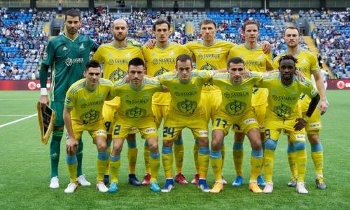 Объявлен состав «Астаны» на ответный матч Лиги Европы с «Валлеттой»
