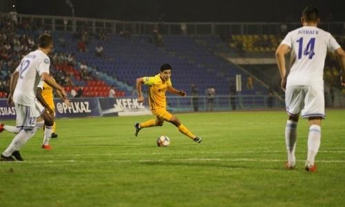 Еркебулан Тунгышбаев — 150 матчей в Премьер-Лиге