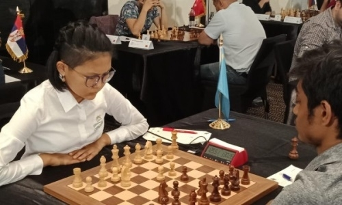 Гроссмейстер Асаубаева назвала самую сложную партию на чемпионате фестиваля Abu Dhabi International Chess Festival Masters