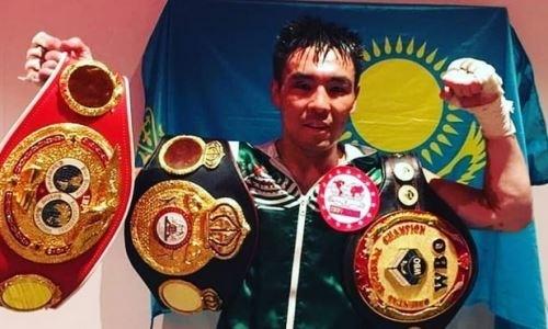 «Впереди большие бои». Небитый казахстанец высказался о победе в поединке за три титула