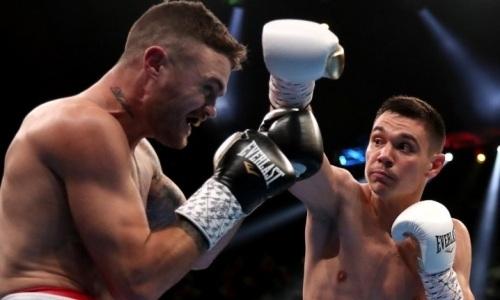 Сын Кости Цзю стал чемпионом IBF в вечере бокса с титульными боями казахстанцев