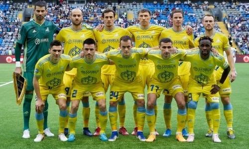«Астана» назвала стартовый состав на ответный матч с «Валлеттой» в Лиге Европы