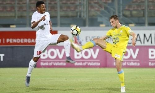 Видеообзор матча Лиги Европы, в котором «Астана» на выезде уничтожила чемпиона Мальты
