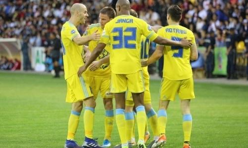 Стало известно точное время матчей «Астаны» за выход в группу Лиги Европы
