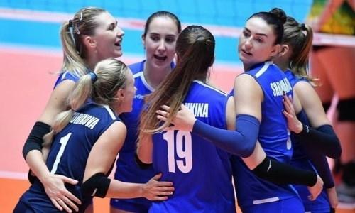 Казахстан стартовал с победы на женском чемпионате Азии