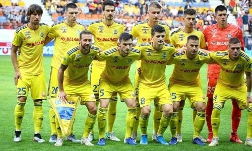 Опубликована заявка БАТЭ на матчи раунда плей-офф Лиги Европы против «Астаны»