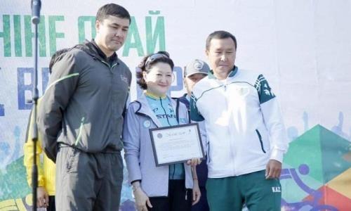 Министр культуры и спорта поздравила казахстанцев