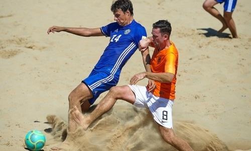 «Соберутся все сильнейшие». Игрок сборной Казахстана по пляжному футболу — о промофинале Евролиги