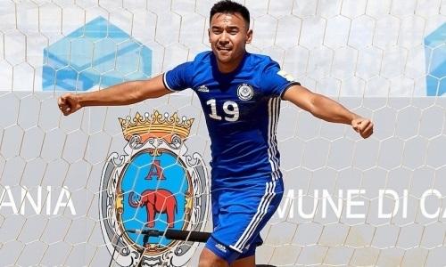 Один из лидеров сборной Казахстана по пляжному футболу объяснил успех в матче с Англией