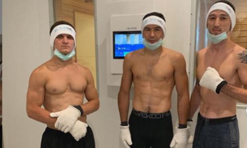 Казахский боец UFC испытал на себе 110-градусный мороз