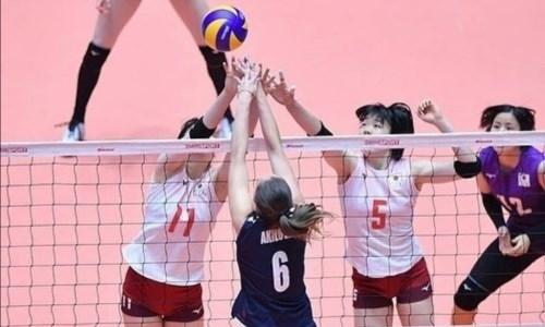 Казахстан проиграл Японии на женском чемпионате Азии