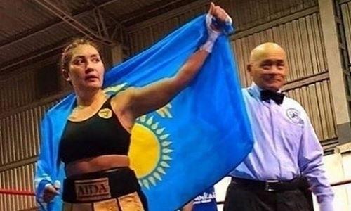 Казахстанская «GGG среди женщин» сообщила о своем возвращении после второго поражения в профи