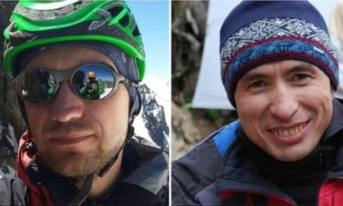 Видео поиска казахстанских альпинистов в горах Тянь-Шаня опубликовало минобороны