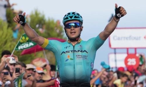Казахстанский гонщик «Астаны» ворвался в ТОП-15 рейтинга UCI после большой победы