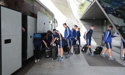 БАТЭ прибыл в Нур-Султан на матч Лиги Европы с «Астаной»