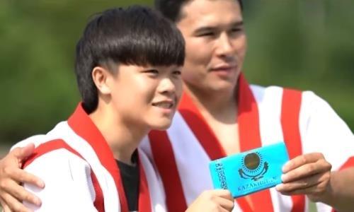 Приемы казахской борьбы изучили в Южной Корее