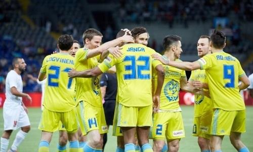 КФФ пожелала «Астане» побед в матчах Лиги Европы с БАТЭ