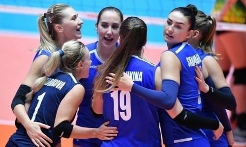 Казахстанские волейболистки уступили Китаю на чемпионате Азии в Южной Корее