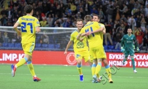 Такого не ожидал никто! «Астана» разнесла БАТЭ в плей-офф Лиги Европы