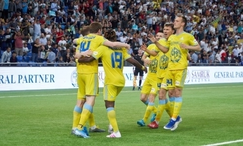 Видео голов матча Лиги Европы «Астана» — БАТЭ 3:0