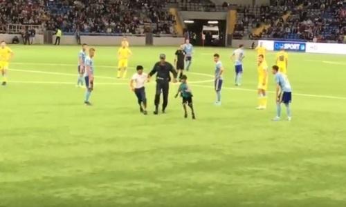 Инцидент с болельщиками произошел во время матча Лиги Европы «Астана» — БАТЭ