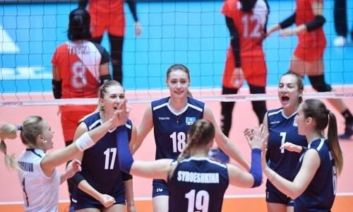 Женская сборная пробилась на азиатский квалификационный турнир