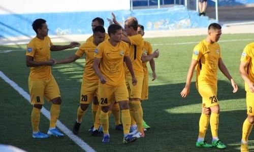 «Каспий» в гостях переиграл «Байконур» в матче Первой лиги